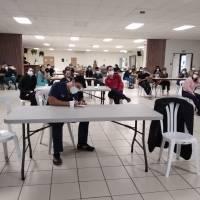 Estudiantes de medicina se unen a operativo de vacunación de la Guardia Nacional