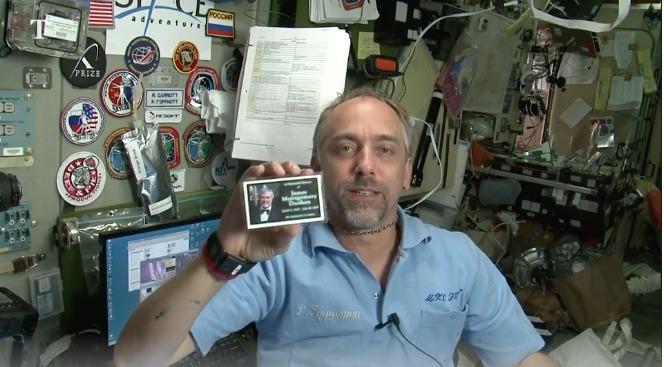 Star Trek Estación Espacial Internacional