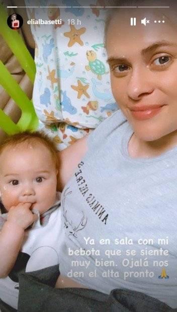 Eliana y su hija