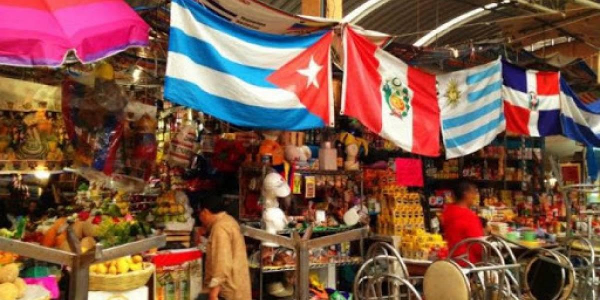 Mercado Medellín, un pedazo de Sudamérica en México