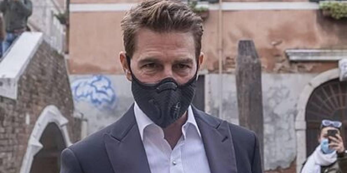 Tom Cruise dispuesto a pagar lo que sea para impedir contagios: dos robots patrullan el set de 'Misión Imposible' para hacer cumplir las normas