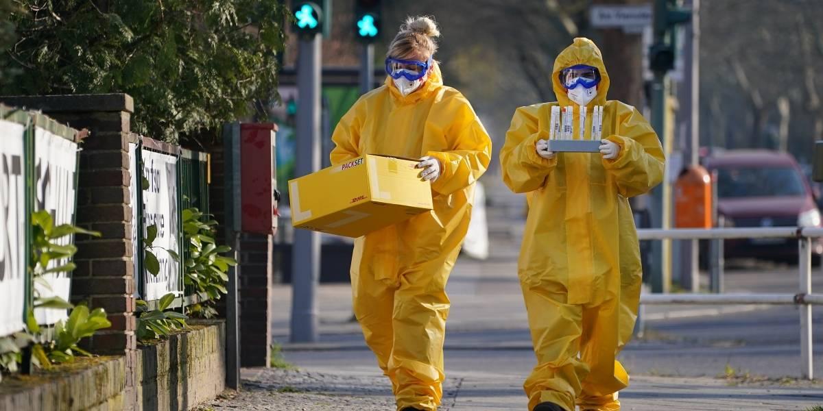 Alemania confirma su tercera cifra más alta de fallecidos diarios por coronavirus con más de 850