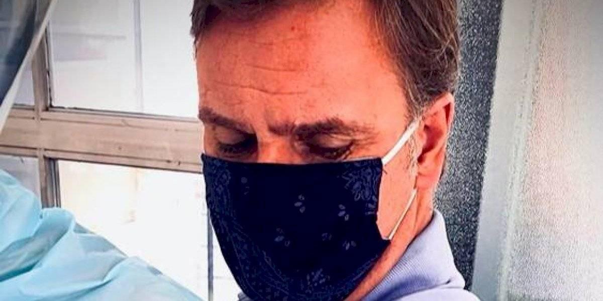 Amaro Gómez-Pablos es voluntario para las pruebas clínicas de vacuna contra el coronavirus