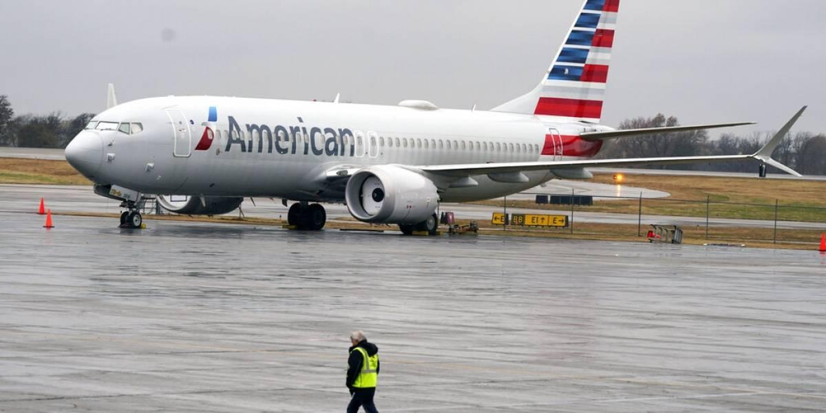 Avión Boeing Max vuela de nuevo en Estados Unidos con pasajeros