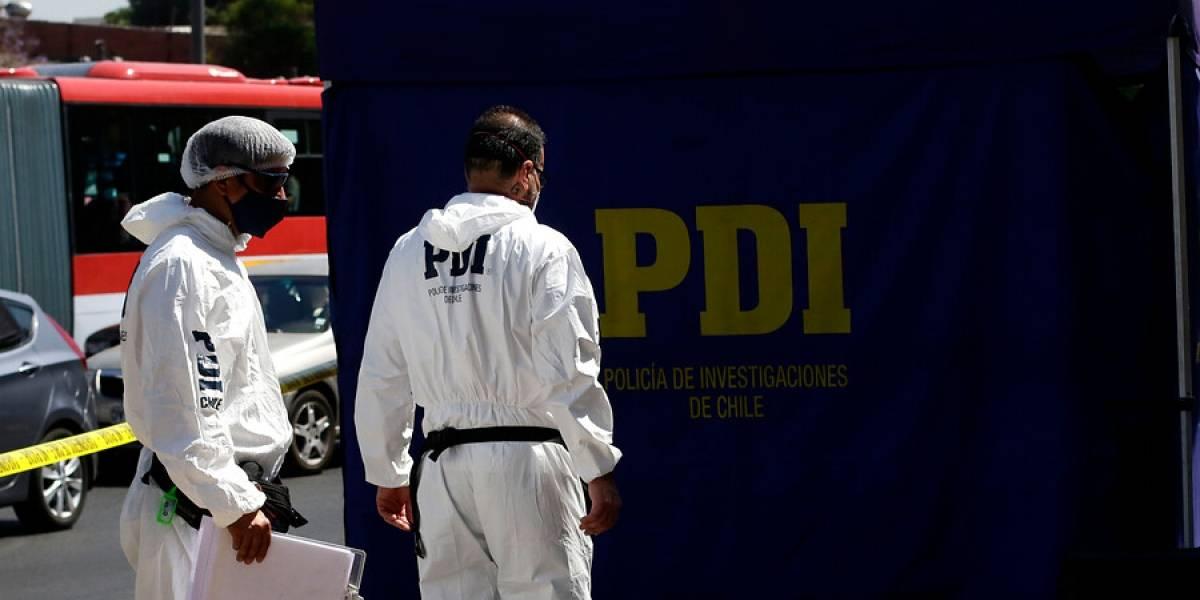 Portonazo en Cerrillos deja un hombre muerto por herida de bala