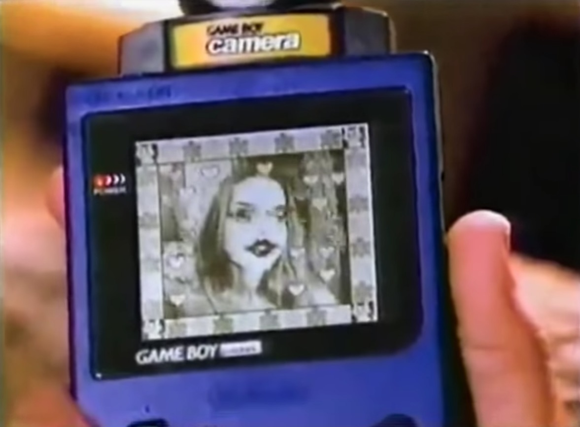 Nintendo retro Game Boy Camera