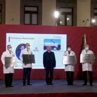 Entregan condecoración Miguel Hidalgo al personal de Salud