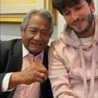 Sebastián Yatra le dedicó un conmovedor mensaje de despedida a Armando Manzanero