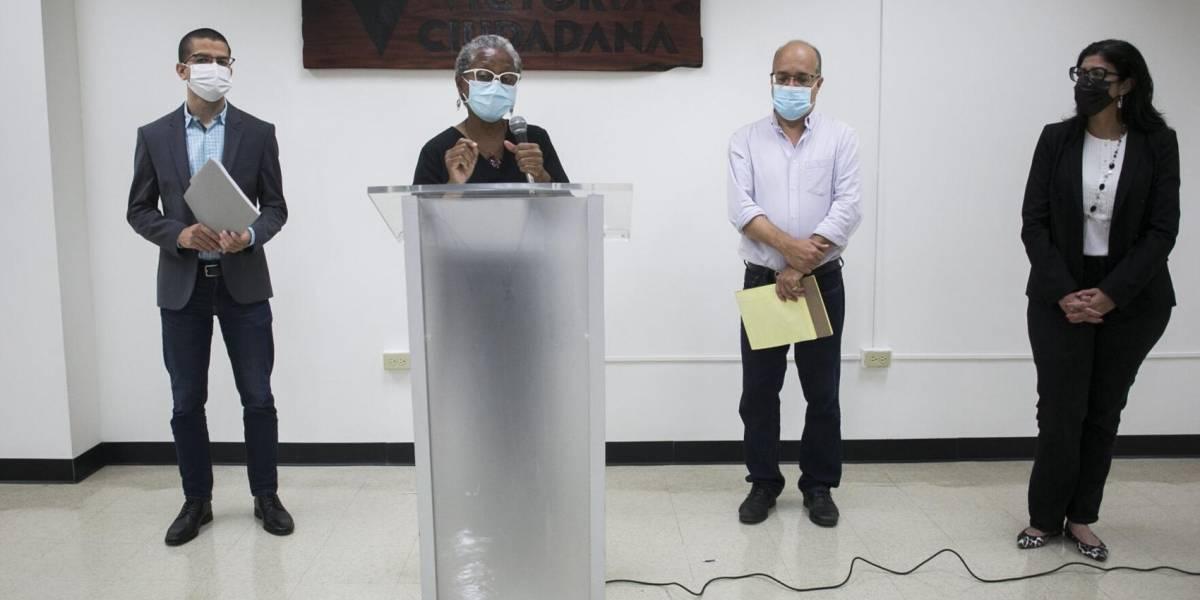 Legisladores del MVC denuncian presunta imposición de política pública por la Junta