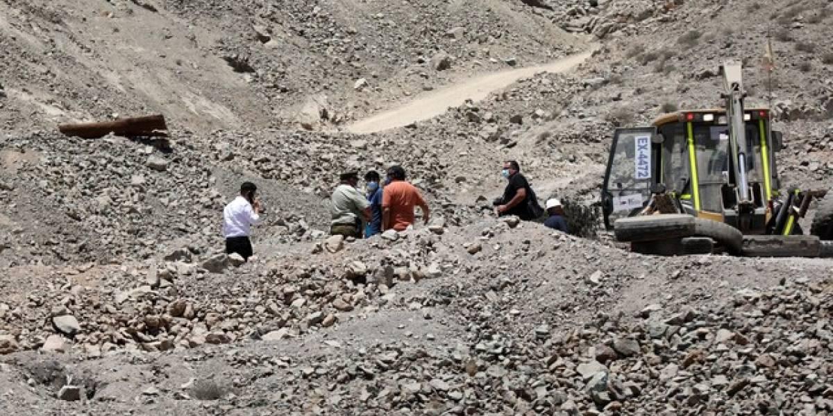 Accidente minero mantiene a dos trabajadores atrapados en Tierra Amarilla