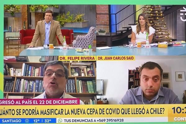 La pregunta de Julio César Rodríguez que sacó aplausos: ¿Por qué algunos pueden ir de vacaciones a Miami y otros ni siquiera a Rancagua a ver a sus padres?