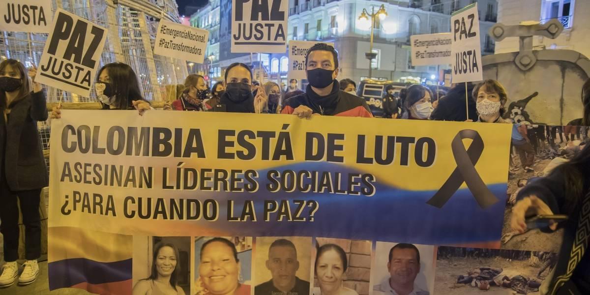 Colombia.- El año 2020 cierra con más de 300 líderes sociales asesinados en Colombia