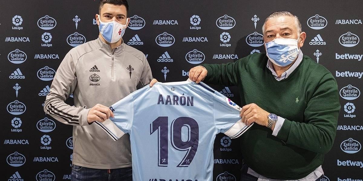 Fútbol.- El Celta refuerza su defensa con la cesión del lateral Aarón Martín