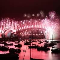 Sidney recibe el Año Nuevo con espectáculo de fuegos pirotécnicos