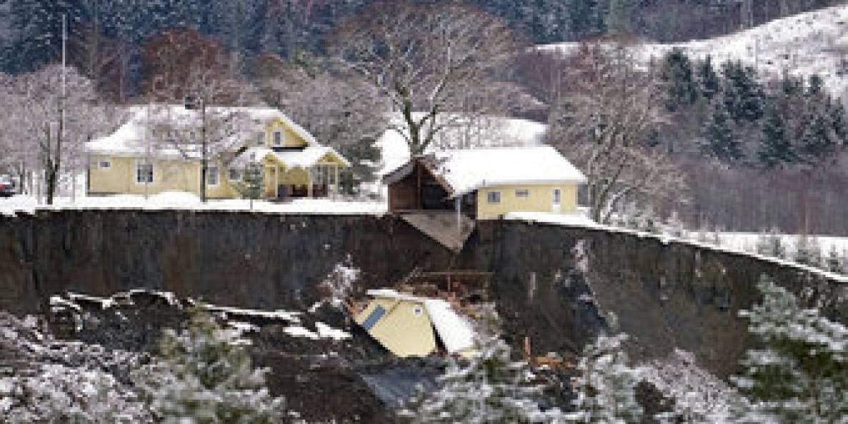 La última tragedia que golpeó este año a Noruega: desesperada búsqueda de víctimas del alud que aplastó diez edificios