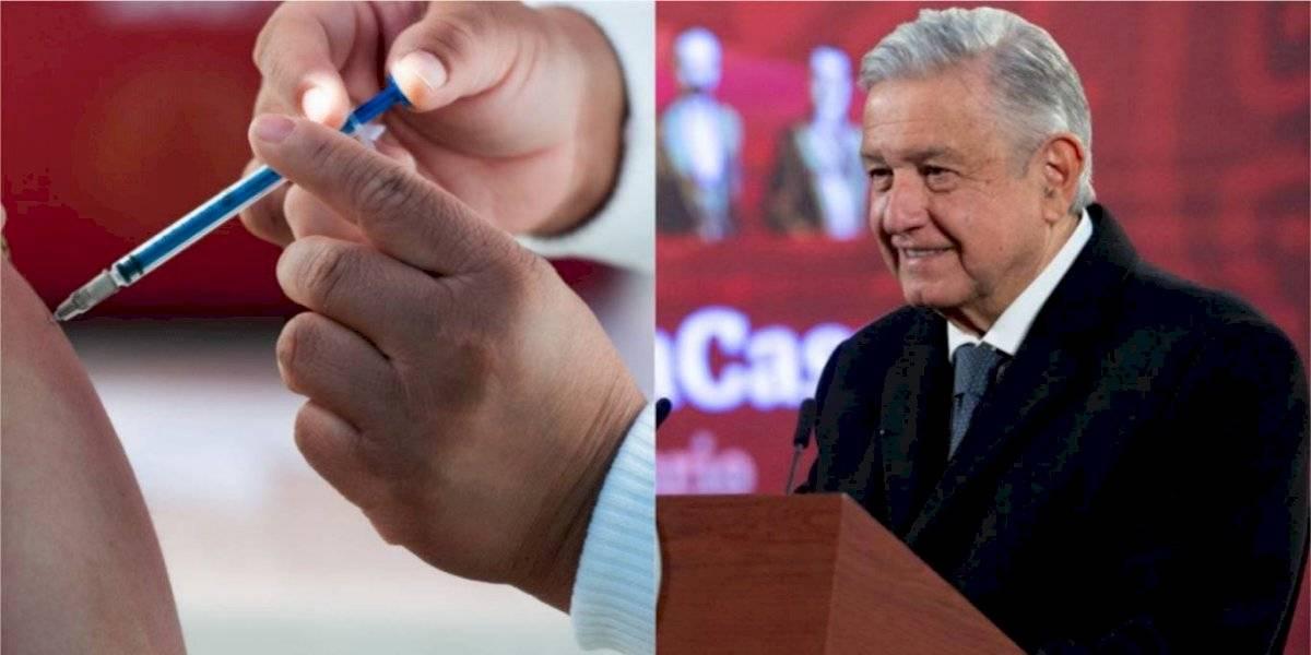 Prevé AMLO que en abril gran parte de los mexicanos ya estén vacunados contra el Covid
