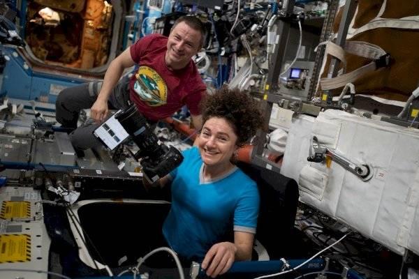Jessica Meir científica y fotógrafa de la NASA