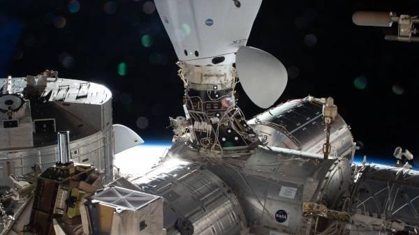 La llegada de un Dragon de SpaceX
