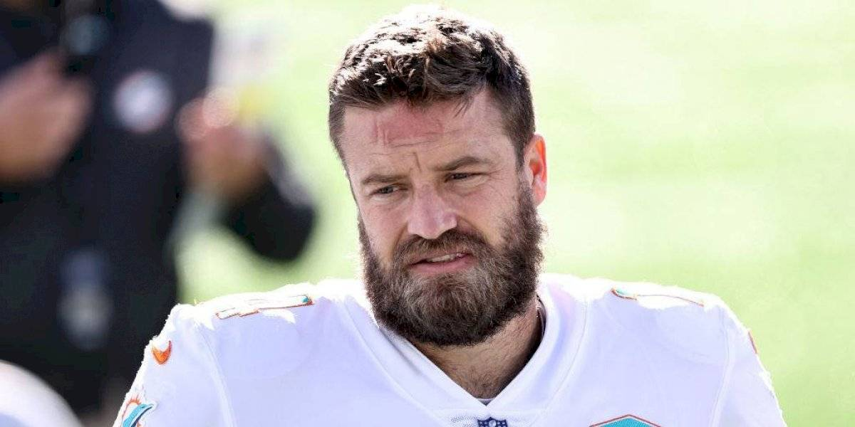 Los Dolphins pierden a Ryan Fitzpatrick por coronavirus