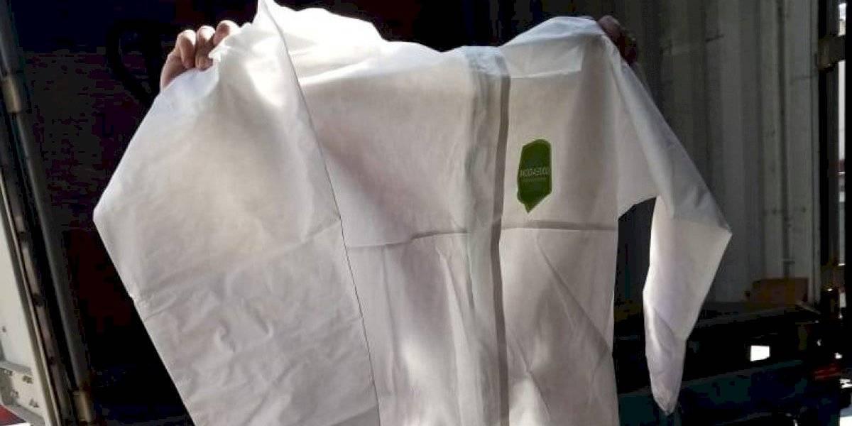 Seúl dona tres mil 500 trajes de protección a personal médico de CDMX