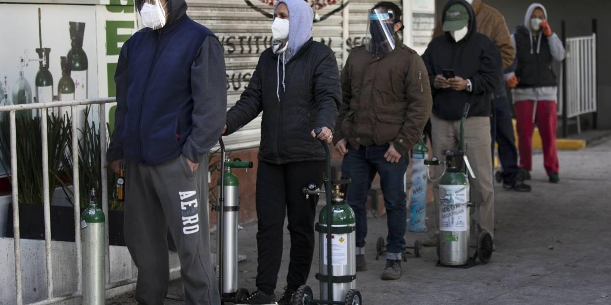 México supera las 180 mil muertes por coronavirus