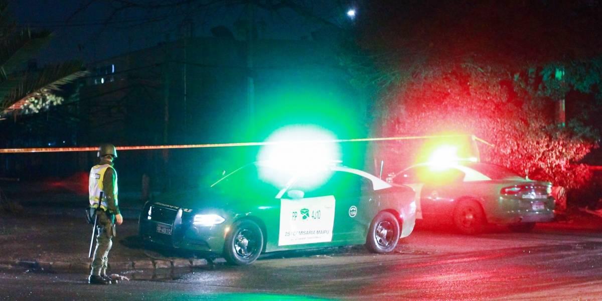 Carabinero frustra encerrona en su contra en Maipú y menor de 16 años resulta baleado