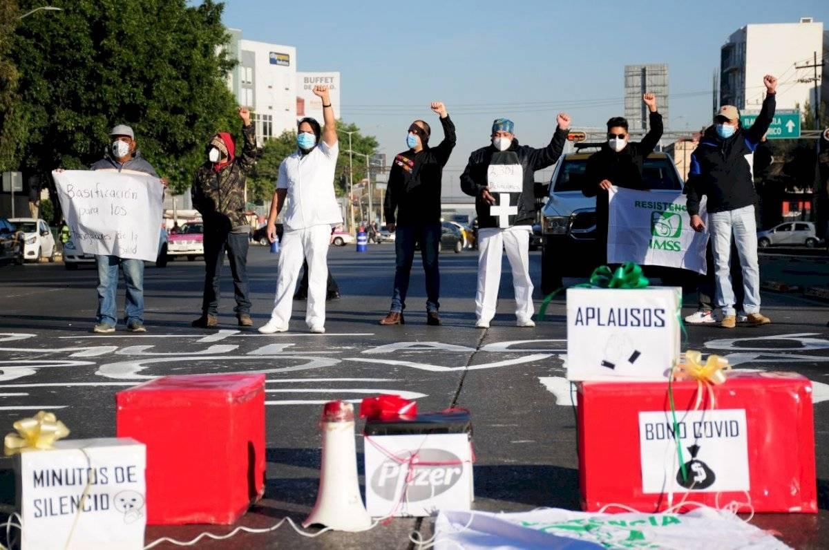 Manifestaciones en La Raza