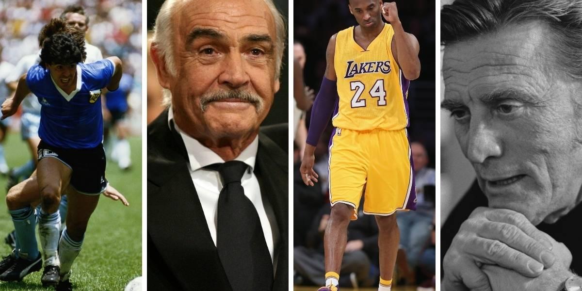 De Kobe Bryant a Manzanero: la larga lista de famosos que murieron en 2020
