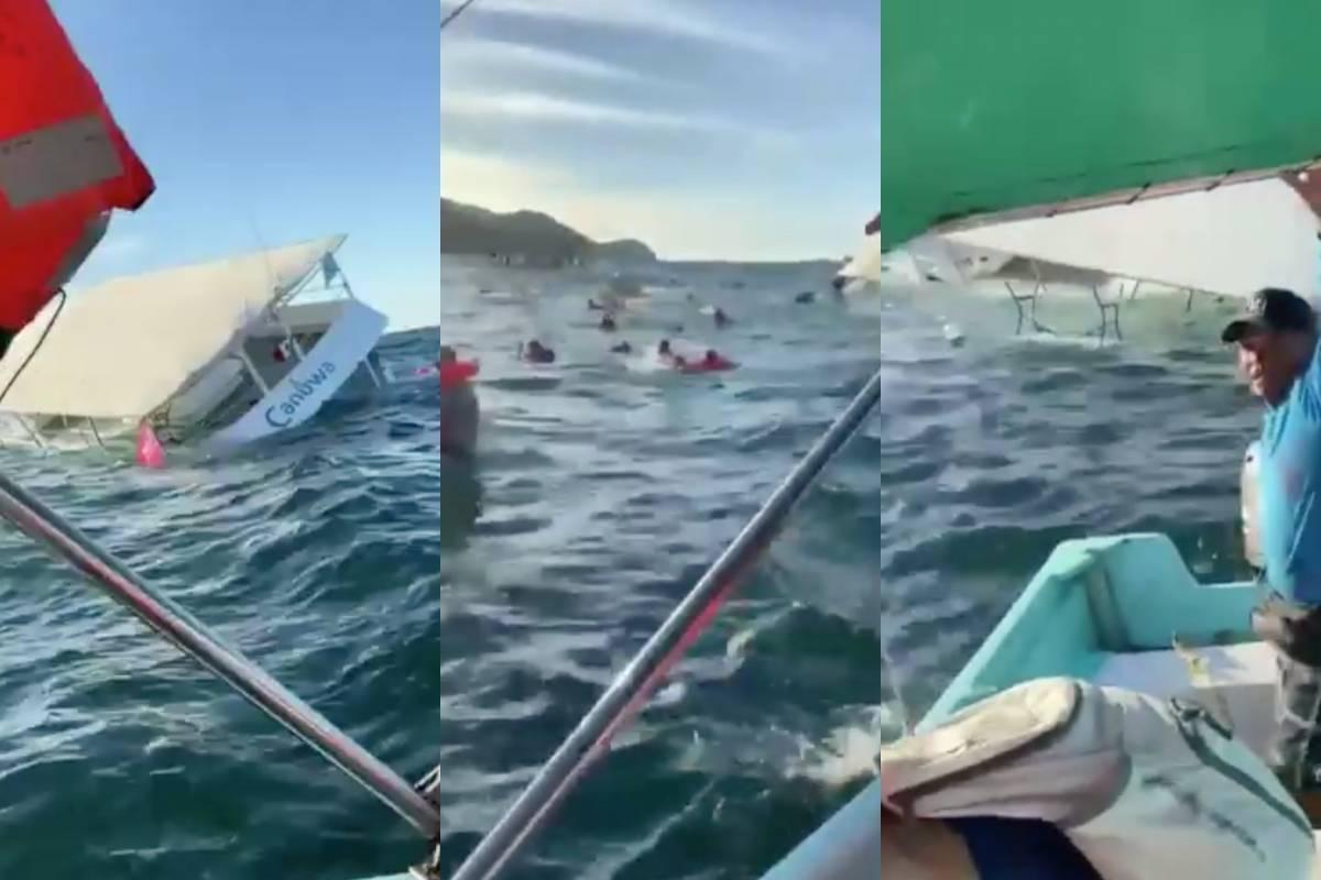 Se hunde embarcación que celebraba Año Nuevo con 60 turistas en Puerto  Vallarta | Publimetro México