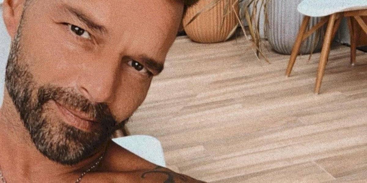 Ricky Martin comparte íntimo momento desde su casa