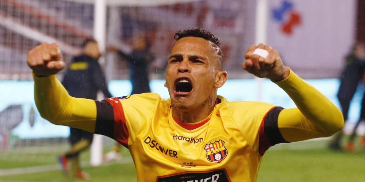 Jonatan Álvez deja Barcelona SC y jugará en Atlético Nacional de Medellín