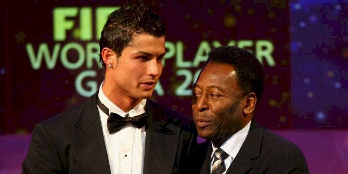 Cristiano Ronaldo iguala marca goleadora de Pelé