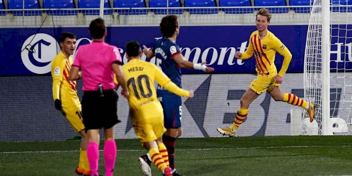 ¡Messi 2021! Volvió Leo y el Barcelona venció al Huesca con una genialidad de la Pulga