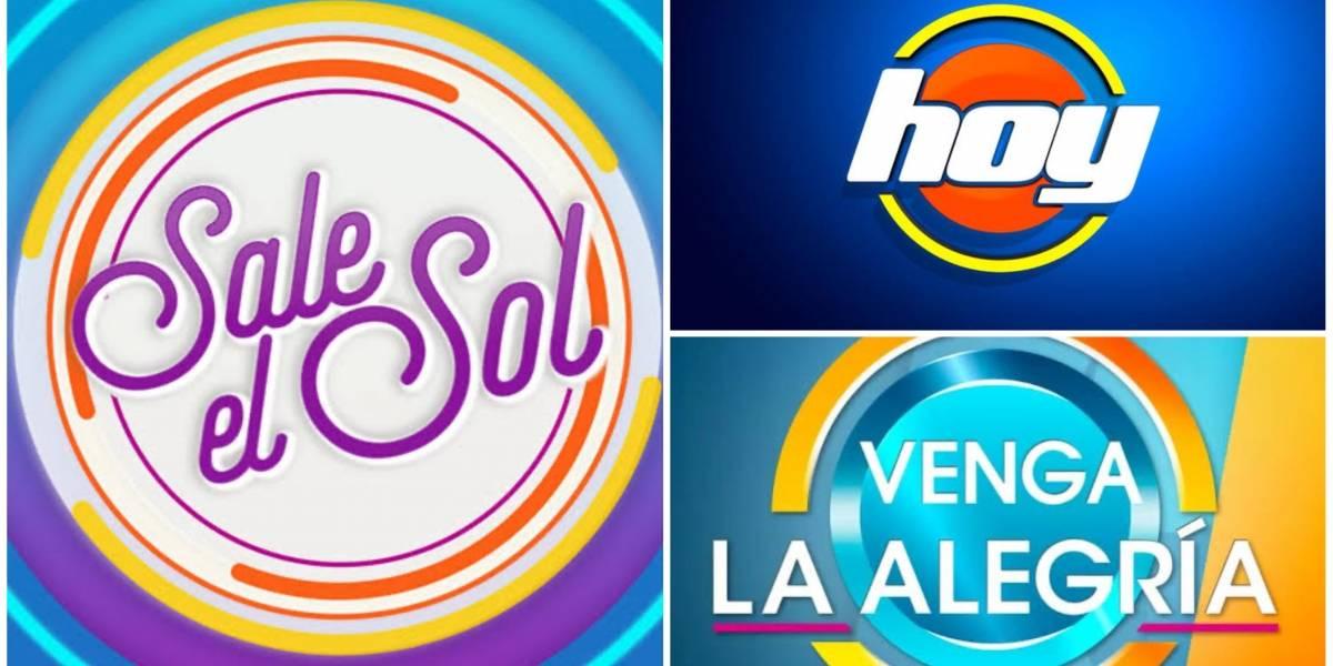 Matutinos de la TV mexicana se renuevan y estrenarán escenografía