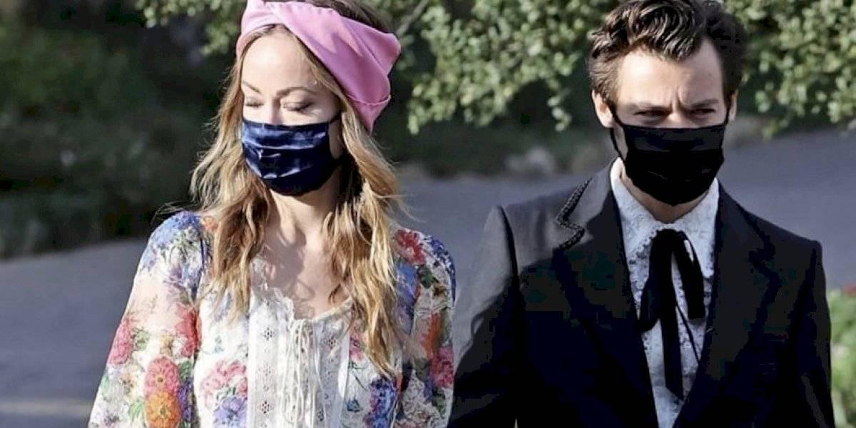 Alerta de romance en Hollywood: Harry Styles y Olivia Wilde estarían juntos