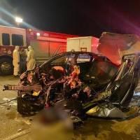 Azuay: Cuatro personas fallecieron en un accidente entre un bus y un vehículo