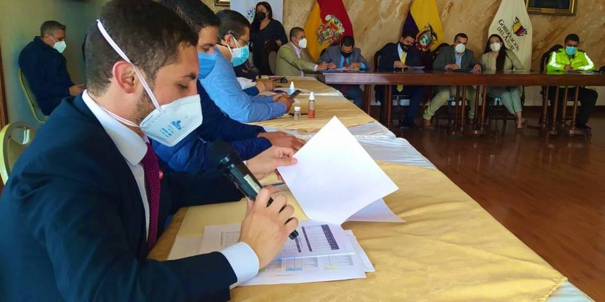 Azuay:  Varios incidentes marcaron el feriado en la provincia