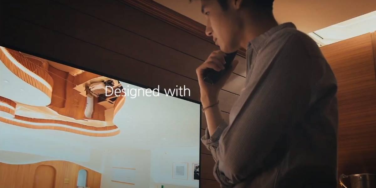 LG muestra genial adelanto de nueva pantalla flexible que se vuelve curva o plana
