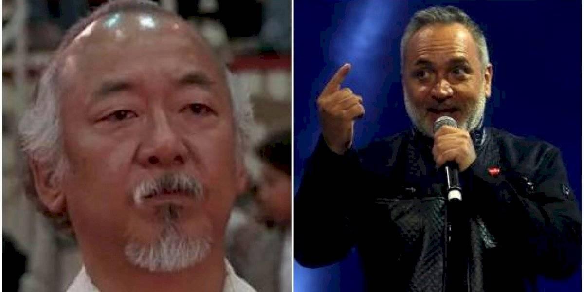"""""""Terminamos carreteando hasta las 4AM"""": Luis Jara sorprende con inédita foto con el """"señor Miyagi"""""""
