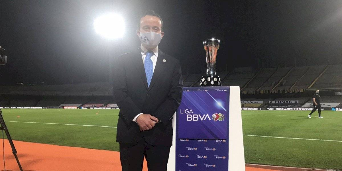 Mikel Arriola envía mensaje como presidente de la Liga MX