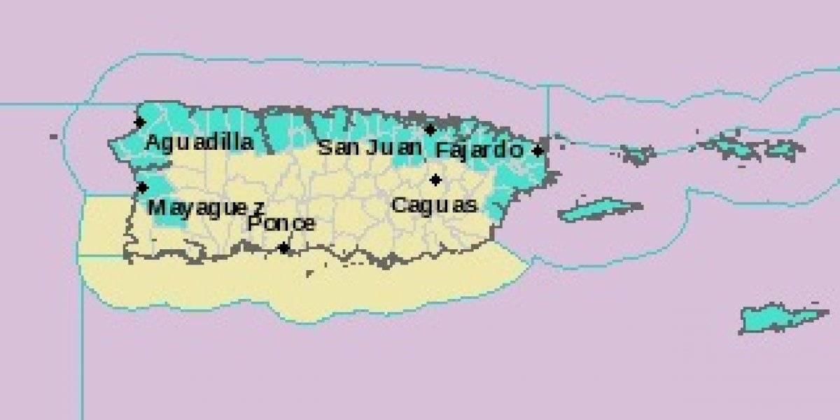 Alto riesgo de corrientes marinas en las playas de Puerto Rico para hoy