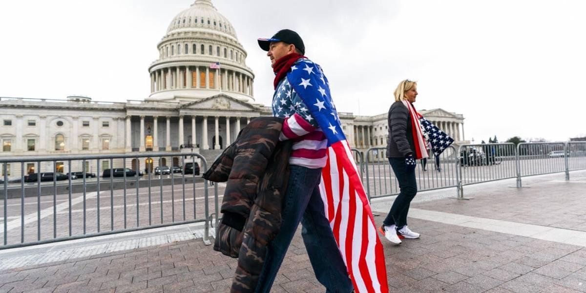 Activan a Guardia Nacional en Washington DC