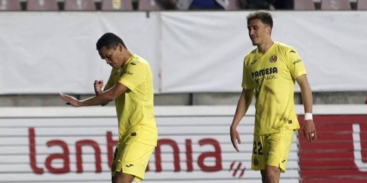 Bacca volvió con todo de la lesión y anotó para el Villarreal en Copa del Rey