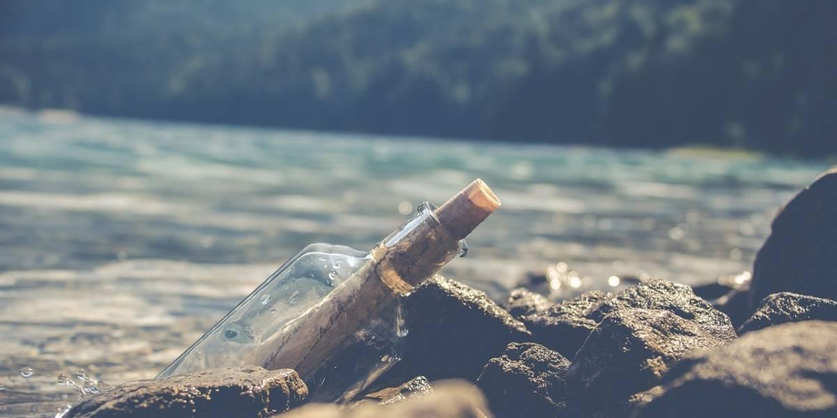 Hallan una botella con un mensaje dentro en una playa de las Bermudas
