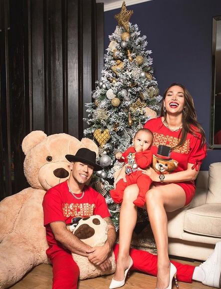Lisandra Silva, Raúl Peralta y su hijo