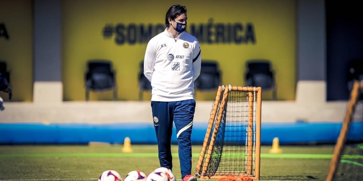 Las diferencias en el entrenamiento de Santiago Solari con el de Miguel Herrera
