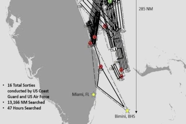 """Investigan desaparición de barco con 20 personas en el misterioso """"triángulo de las Bermudas"""""""