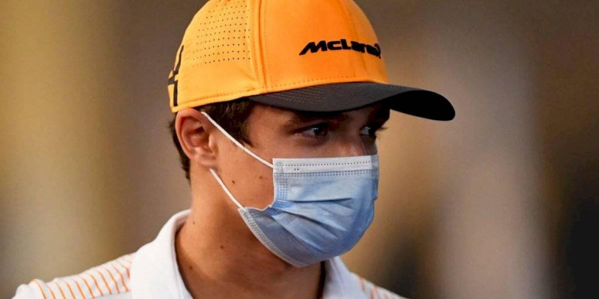 Lando Norris, piloto de McLaren, arroja positivo a COVID-19