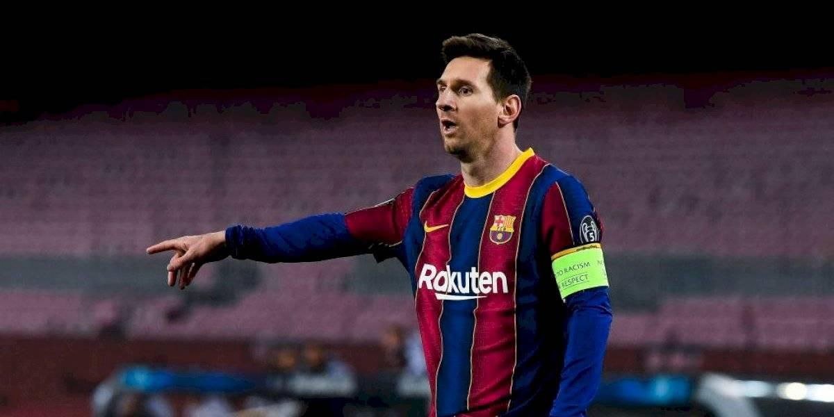 Valor de Lionel Messi cae por debajo de los 100 millones de euros