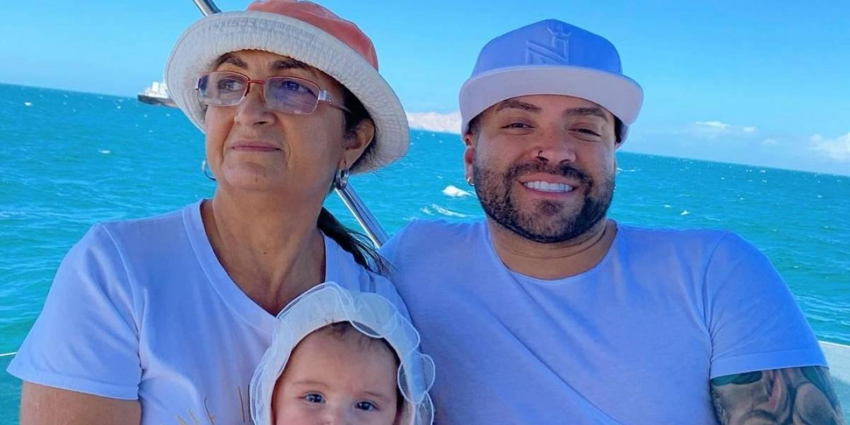 Nacho, Melany y Mya se fueron de vacaciones al mar por Año Nuevo